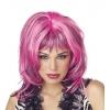 Wig Hard Rockin Witch Blk Pink